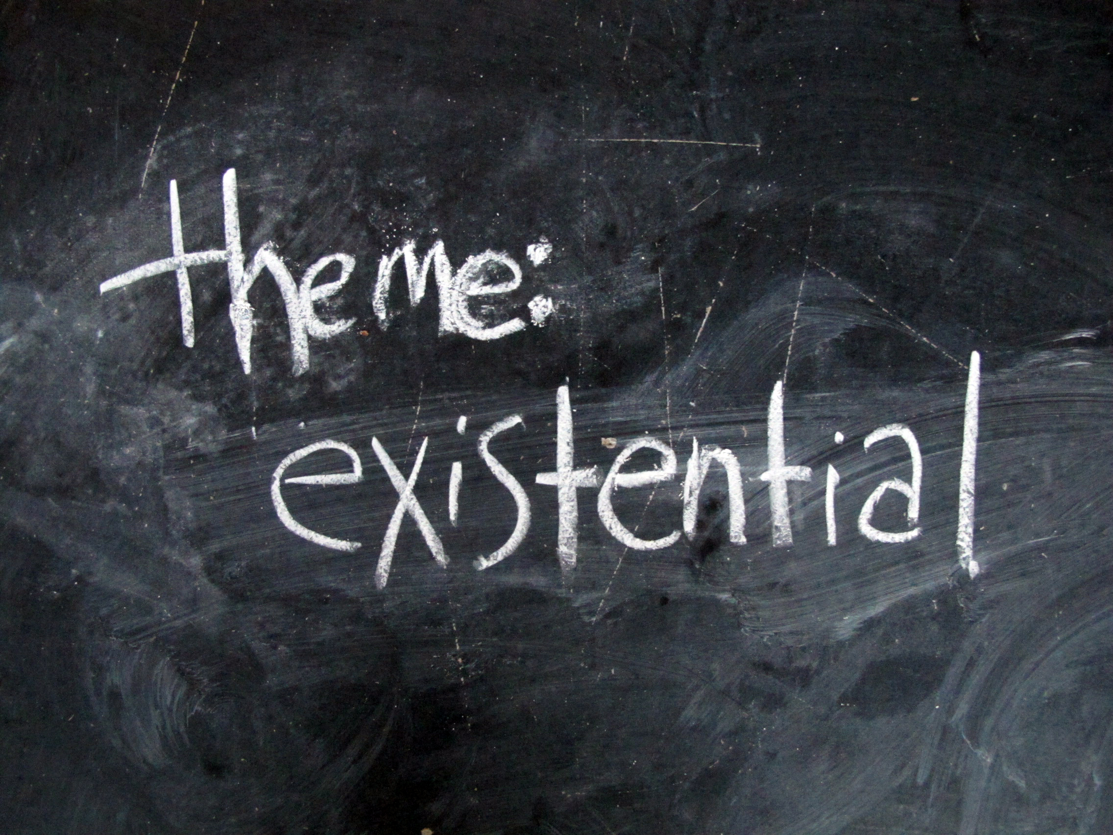themes of existentialism Study flashcards on key themes in existentialism at cramcom quickly memorize the terms, phrases and much more cramcom makes it easy to get the grade you want.